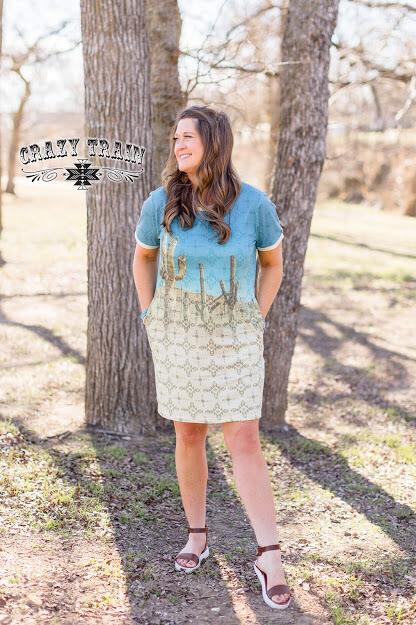 Crazy Train Tucson Timin Dress S/S
