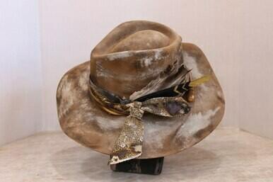 A Rare Bird TDAH520 Distressed Abigail Hat