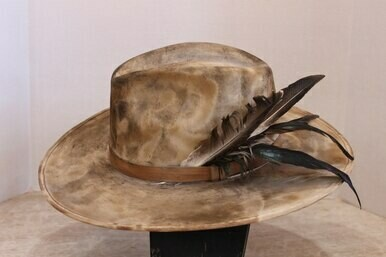 A Rare Bird TE4H0420 Distressed Eloise Hat