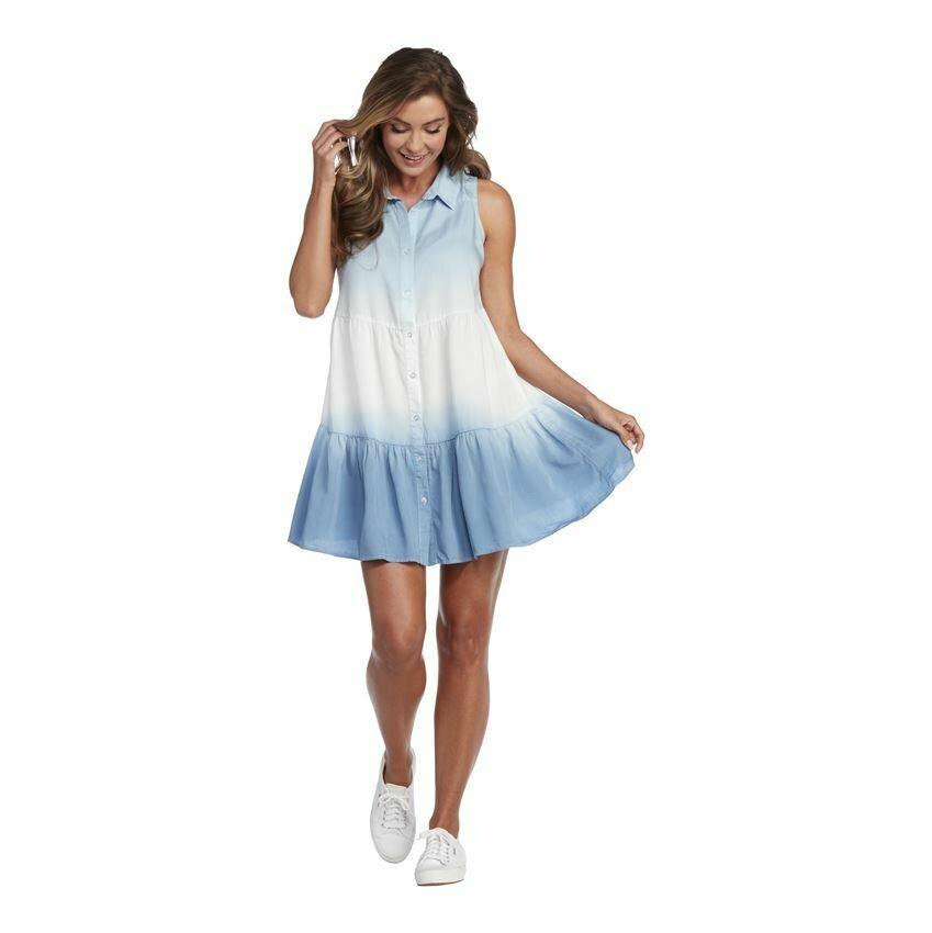 Mud Pie 85000112DD Rosie Tie Dye Dress