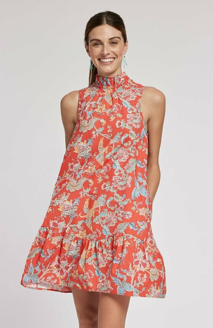 Tyler Boe 70136P Poppy Poplin Chino Dress - Multi