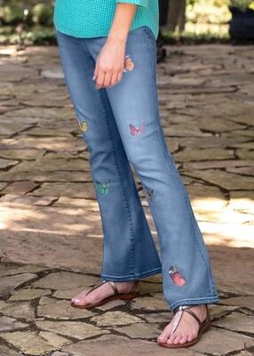 Tru Luxe T11210PM Missy Butterfly Jean
