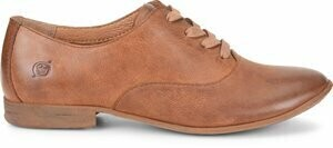 Born F61416 Gila Oxford Lace Up Shoe - Tan