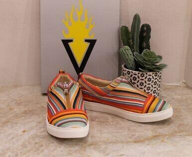 Volatile Lockey Slip On Sneaker W/Zipper