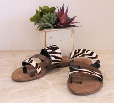 Very Volatile Moshi Slip On Sandal Multi Strap