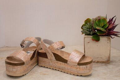 Dirty Laundry Palms Cork Sandal