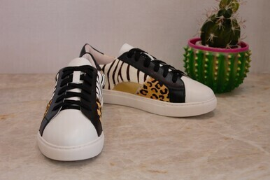 Matisse Zoe Multi Tennis Shoe Zebra/Cheetah