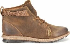 Born Lace Up Short Boot F32526 - Temple Rust