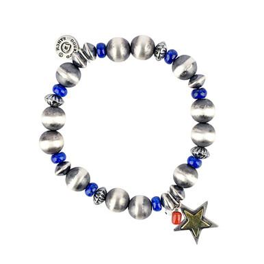 Peyote Bird DDPB19B9 JB2482 Star Spangled Stretch Bracelet