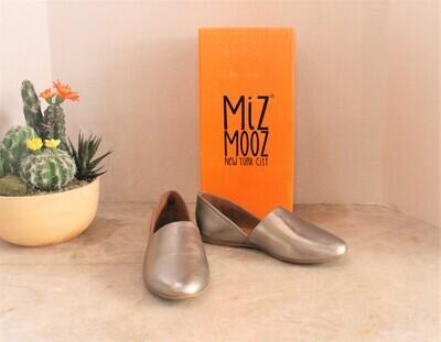 Miz Mooz Kimmy Pewter Slip On Shoe