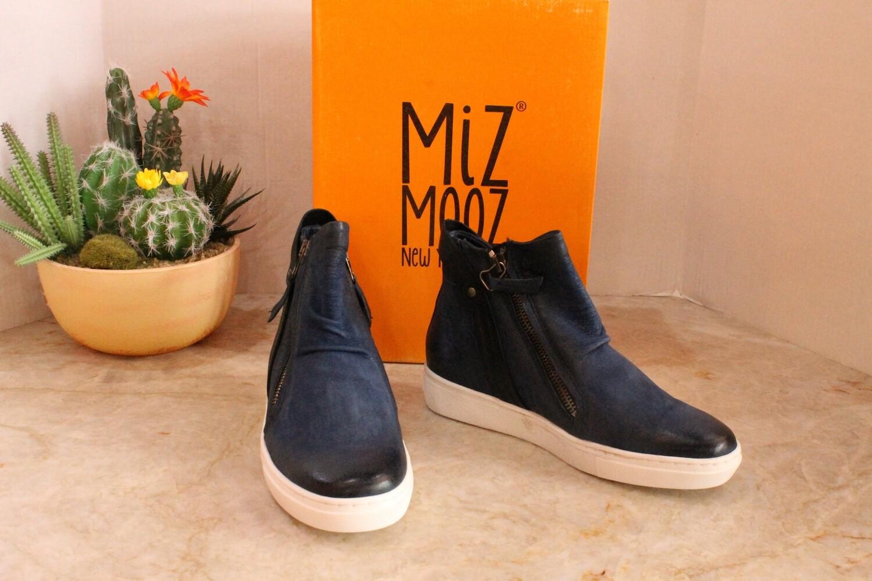 Miz Mooz 294218-102 Lulu Hi Top Sneaker - Blue