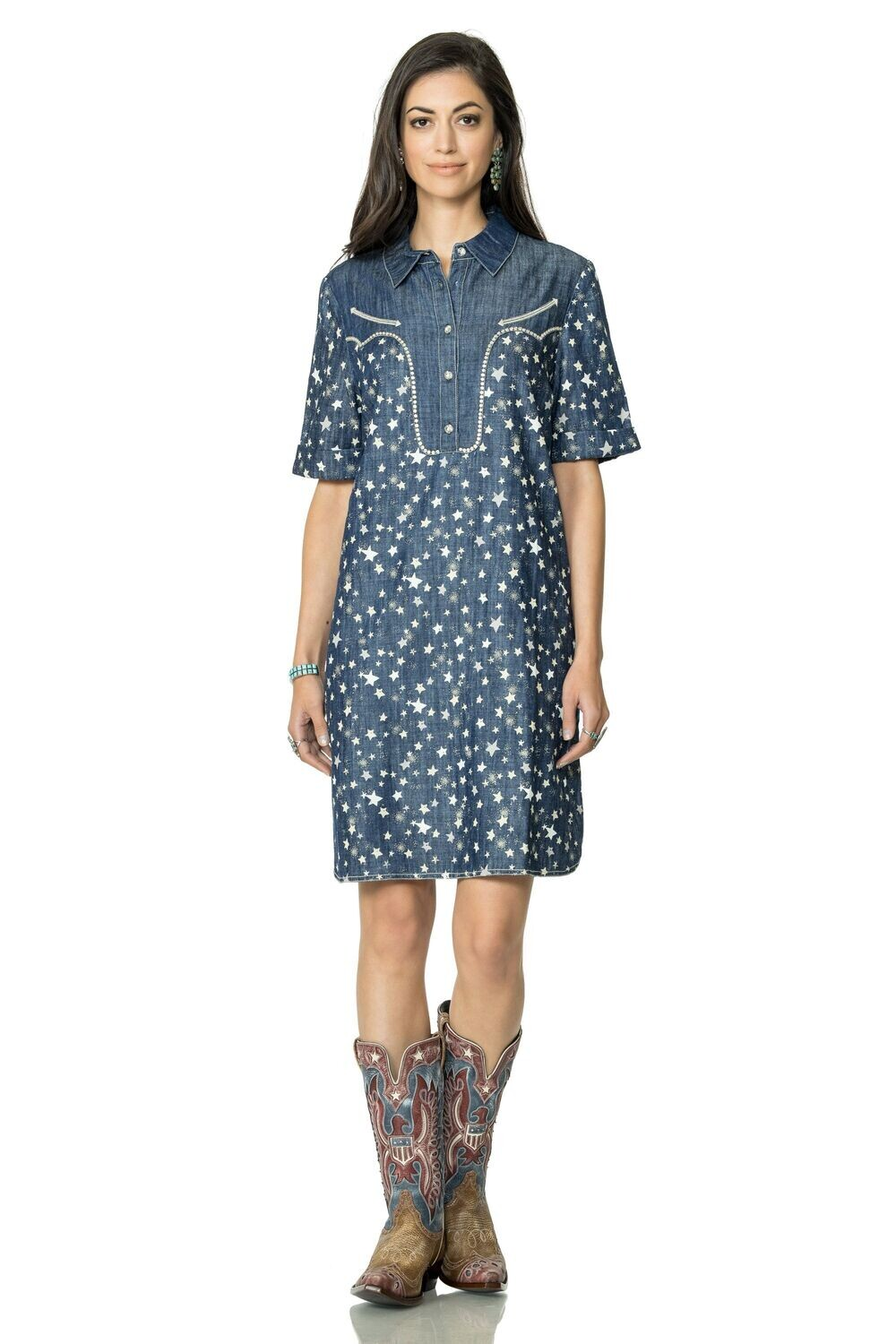 Double D Ranch D1310 Stars At Night Dress