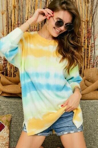 CESW2475 Tie Dye Sweater