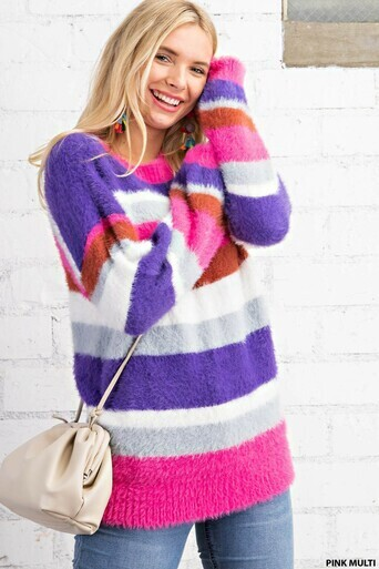 Kori N7627 Soft Mock Neck Sweater