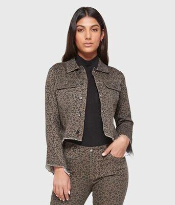 Lola ELLA-LGRY Cropped Denim Jacket