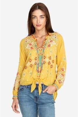 Johnny Was C12719-6 Donya Top Bamboo