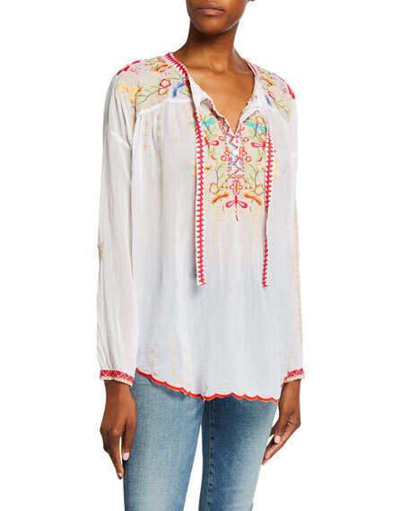 Johnny Was Dragonfly Blouse