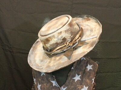 Rare Bird Doc Holliday Wool Hat Distressed