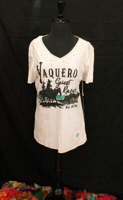 DD T3205 Vaquero Guest Ranch Tee