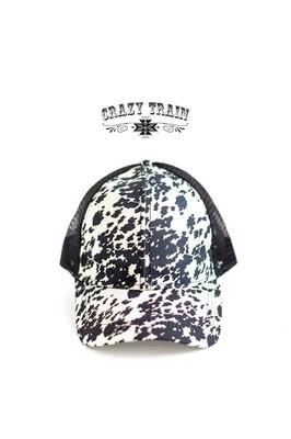 Crazy Train Cow Cap'n Cap