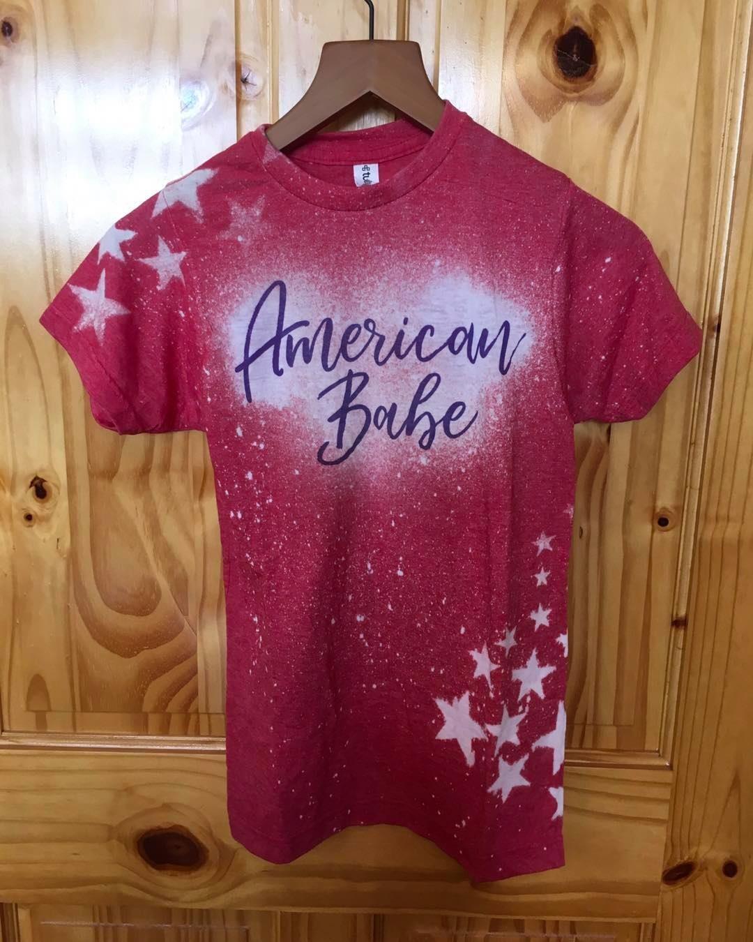 Daydreamers American Babe Tee Shirt