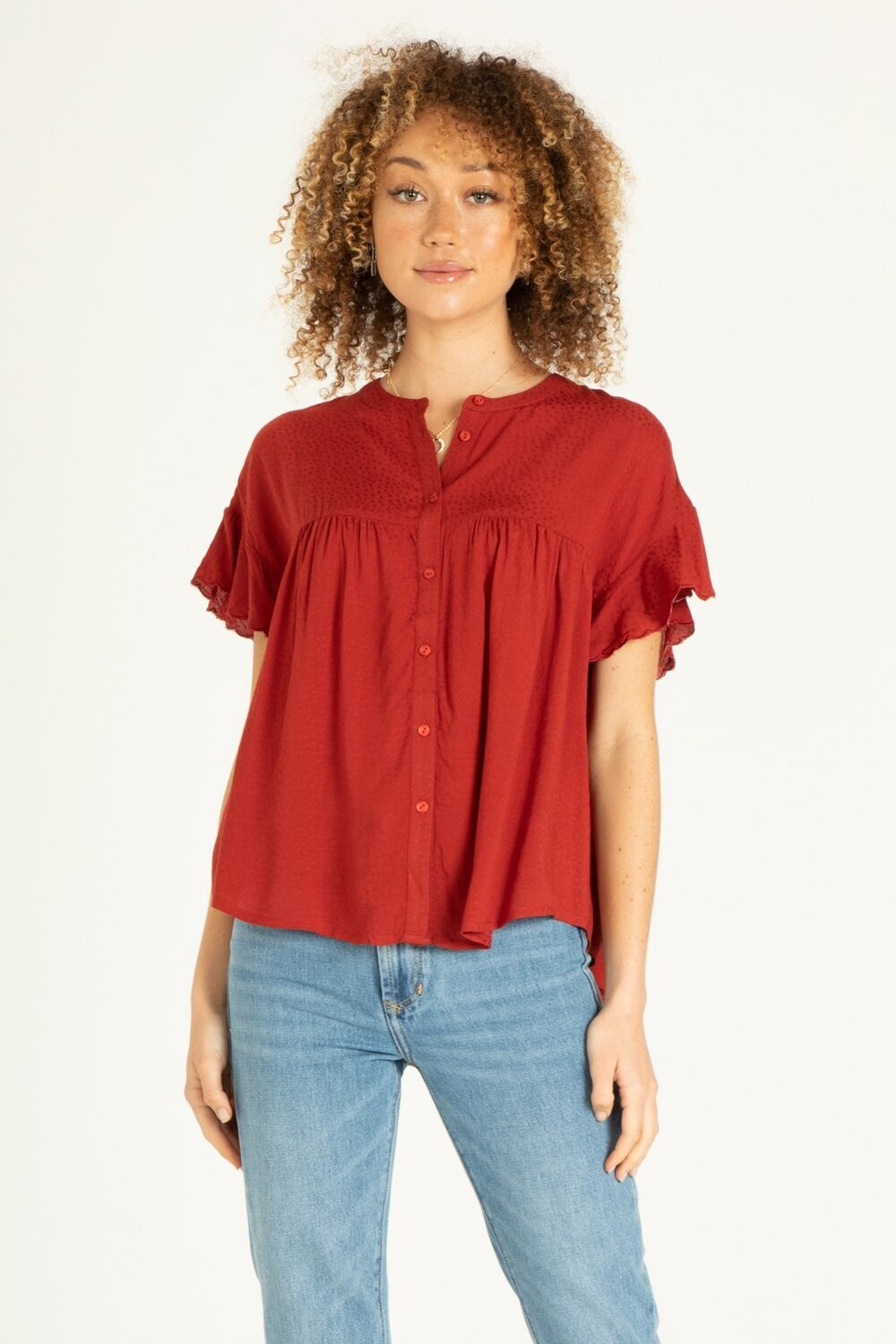 Another Love VCWV5016W7 Kayleigh SS Blouse