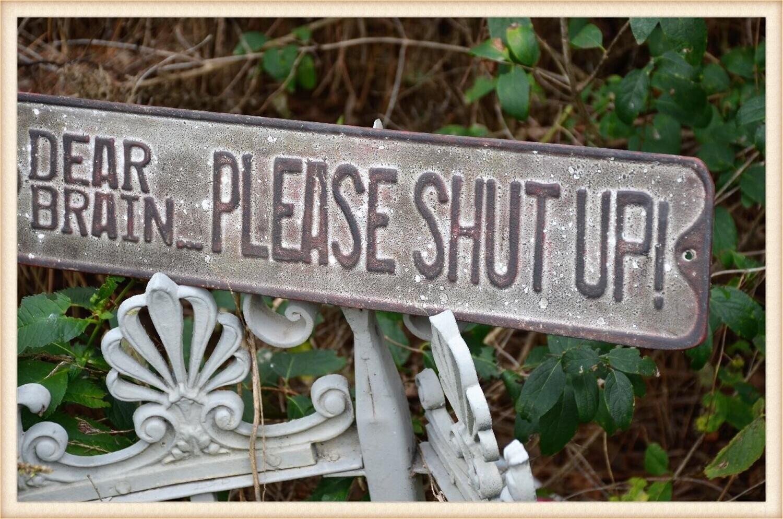 Peacock Park BF1749 Dear Brain Sign