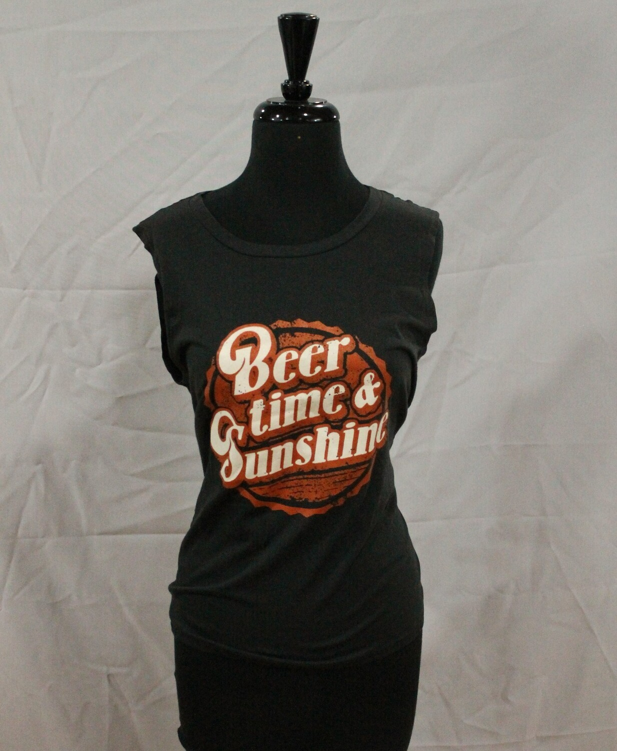 Refined Canvas ZF843-7299 Beer/Time Sunshine Tank