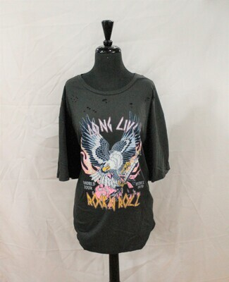 Refined Canvas RC525-1595 SS Rock N Roll Eagle