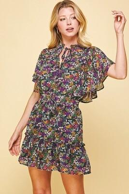 Pinch 3562D Lined Ruffle Dress