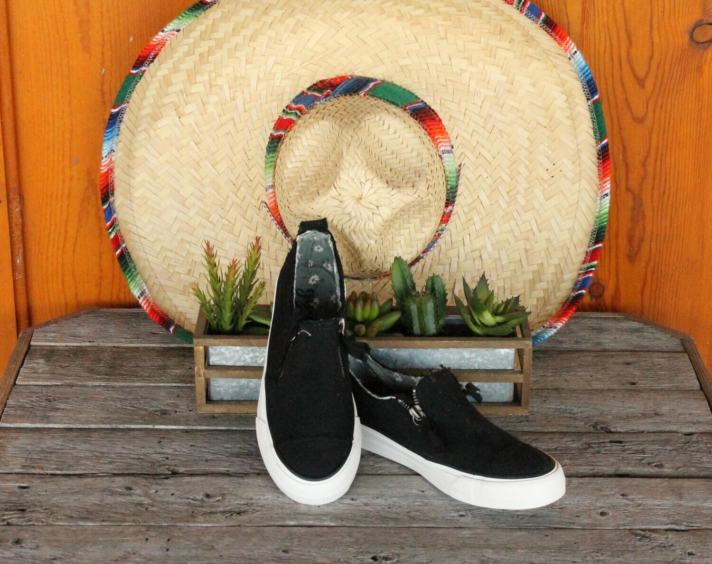Gypsy Jazz GJSP0118 Zippy Sneaker 2-Side Zippers