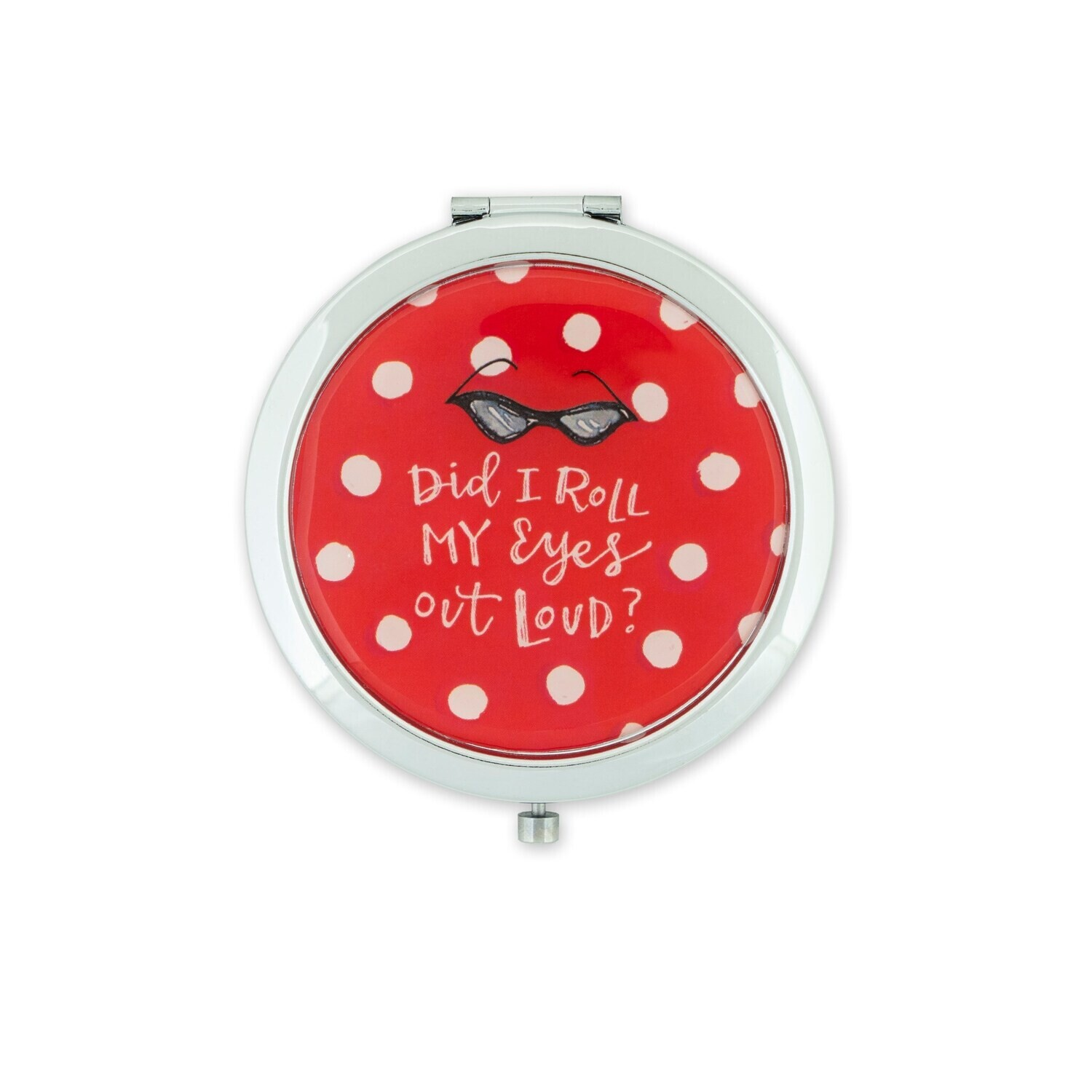 Brownlow 79602 Roll My Eyes Compact Mirror