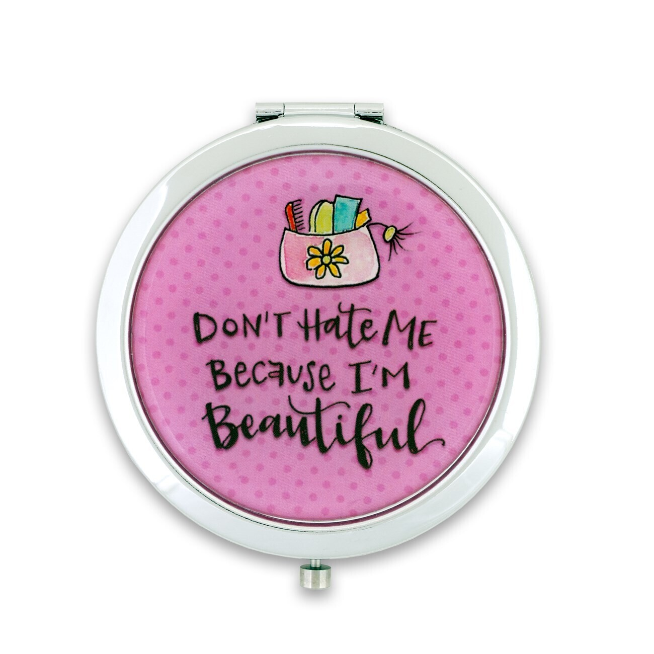 Brownlow 79589 Don't Hate Me Compact Mirror