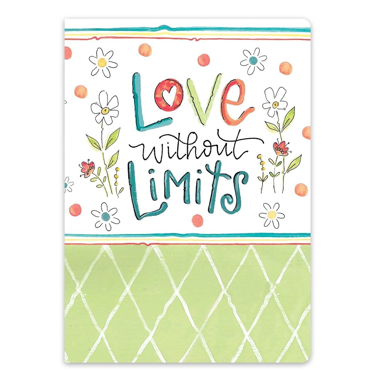 Brownlow 81285 Love W/O Limits Journal