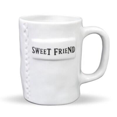 Brownlow 83548 Sweet Friend Mug Artisan Home