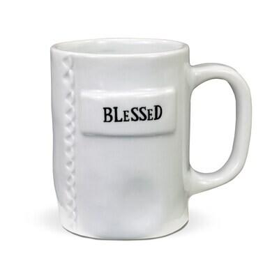 Brownlow 81490 Blessed Mug Artisan Home