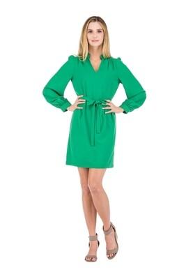 Jade 55J9627 Split Neck Dress LS