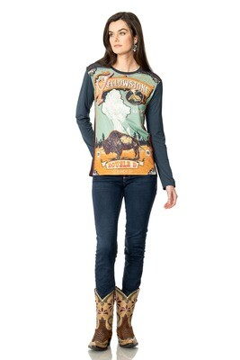 Double D T3497 Yellowstone Park Top