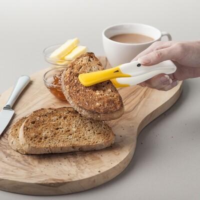 Kitchen Innovations J202DISP  Plastic Duck Toast Tongs