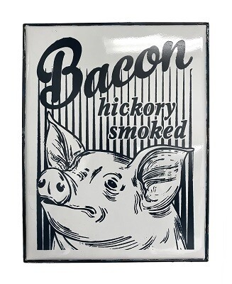Wilco Home 10420 Vintage Bacon Wall Sign