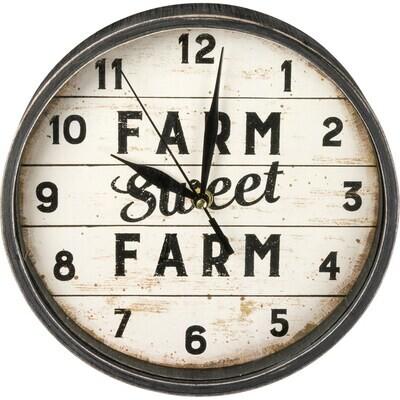 Primitives By Kathy 39401 Clock - Sweet Farm