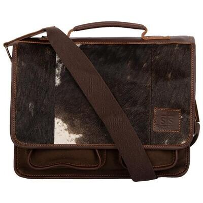 STS36297 Cowhide Messenger Bag