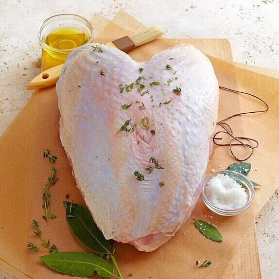 Fresh Uncooked Turkey Breast   approx 3lbs   Outpost's Own   $7.99/lb