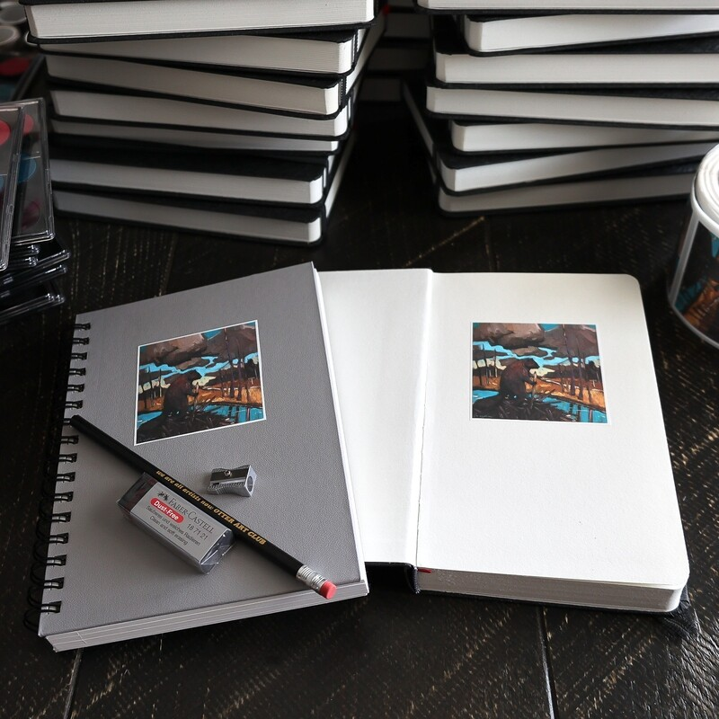 Watercolour Set with Spiral Bound Hardcover Journal