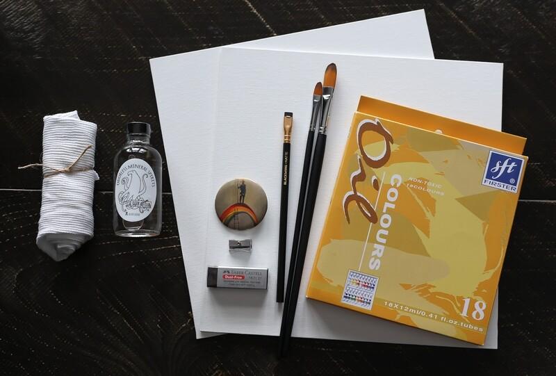 Oil Painting Starter Pack