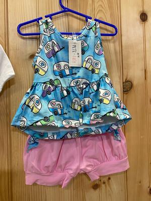 Happy camper Dress 3T