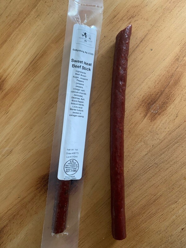 Sweet Heat Beef Stick