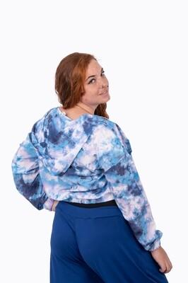 Tie Dye Jacket (Blue)
