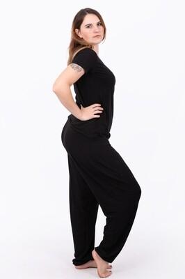 Lounge Wear Pants (Black)