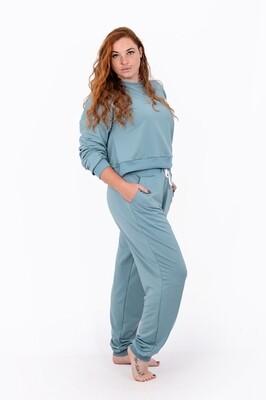Tracksuit Pants (Aqua)